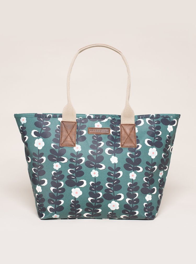 Modrá kvetovaná kabelka Brakeburn