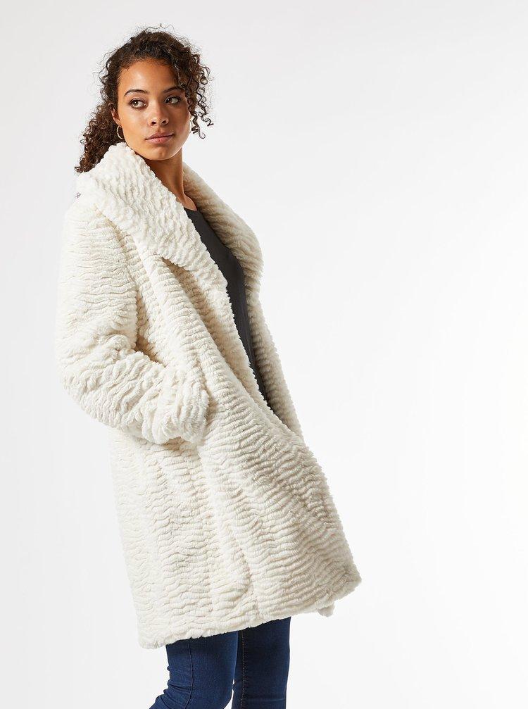 Bílý zimní kabát Dorothy Perkins Tall