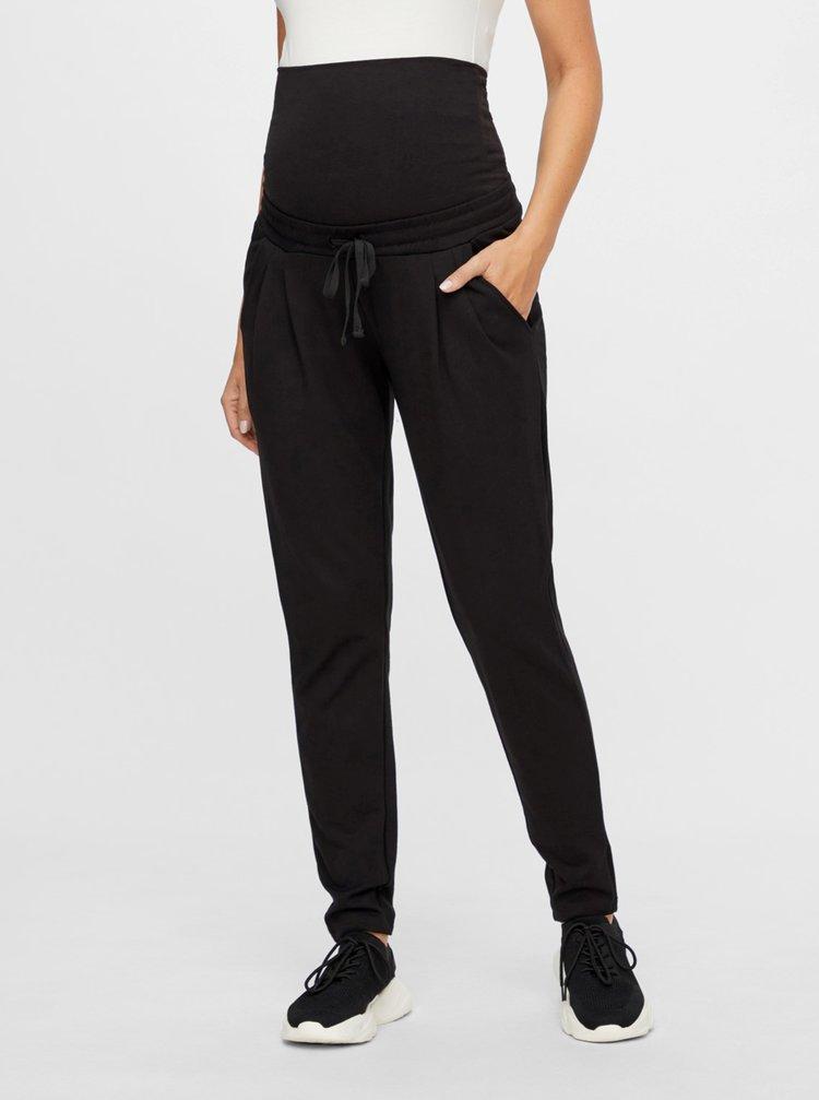Černé těhotenské tepláky Mama.licious