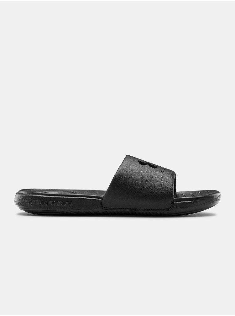 Pantofle Under Armour M Ansa Fix SL - Čierná