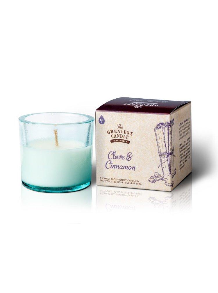 The Greatest Candle Vonná svíčka ve skle (75 g) - hřebíček a skořice