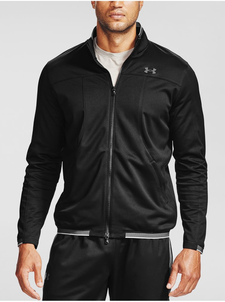 Bunda Under Armour UA Recover Knit Track Jacket - Čierná