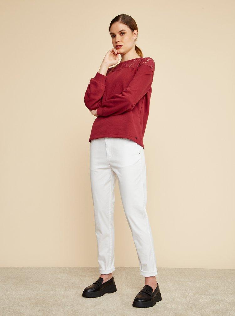 Biele dámske chino nohavice ZOOT Baseline Heather