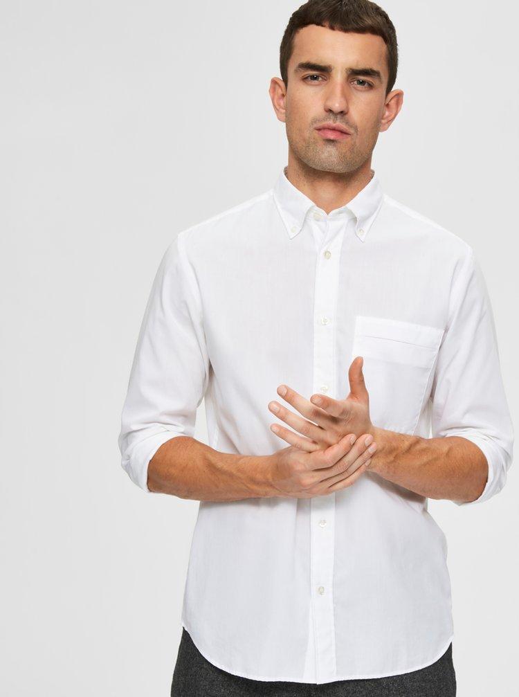 Bílá košile Selected Homme
