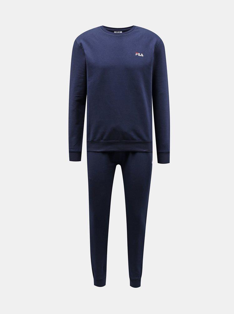 Tmavě modré pánské pyžamo FILA