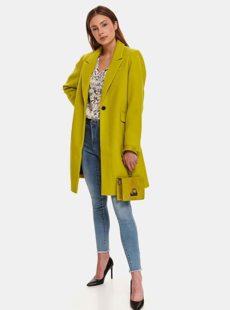 Zelený dámský kabát TOP SECRET