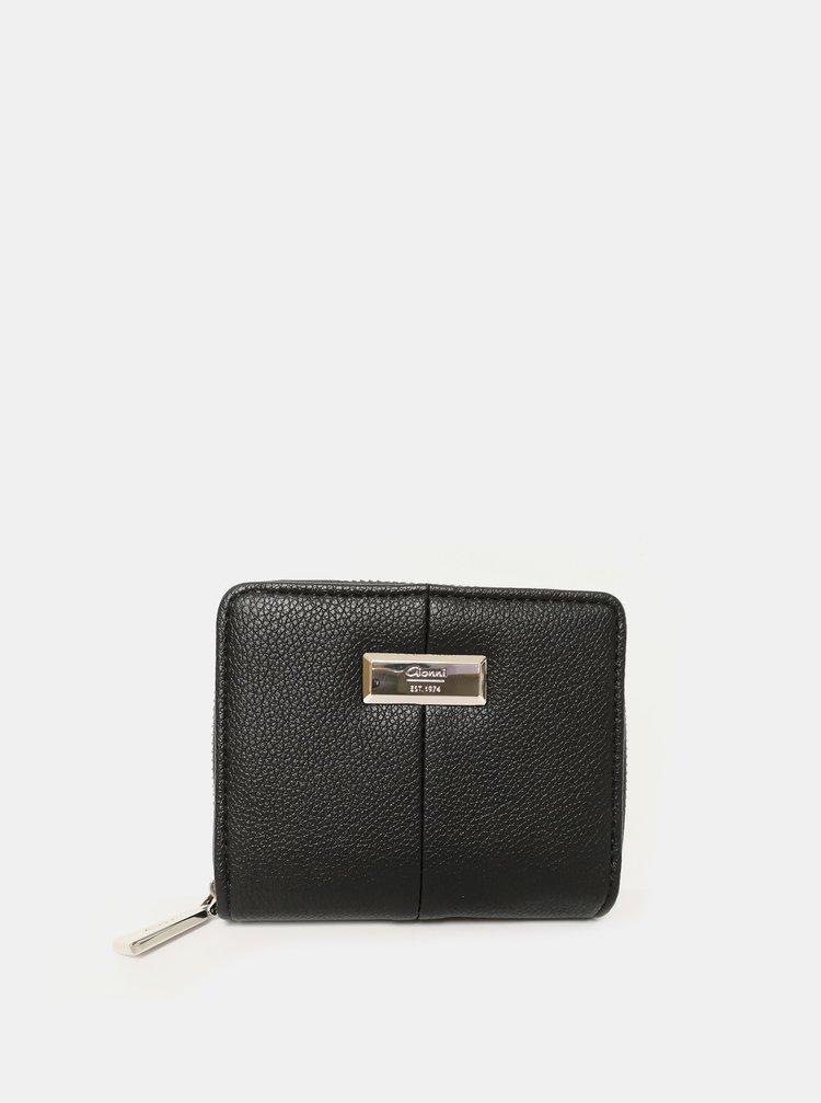 Čierna peňaženka Gionni