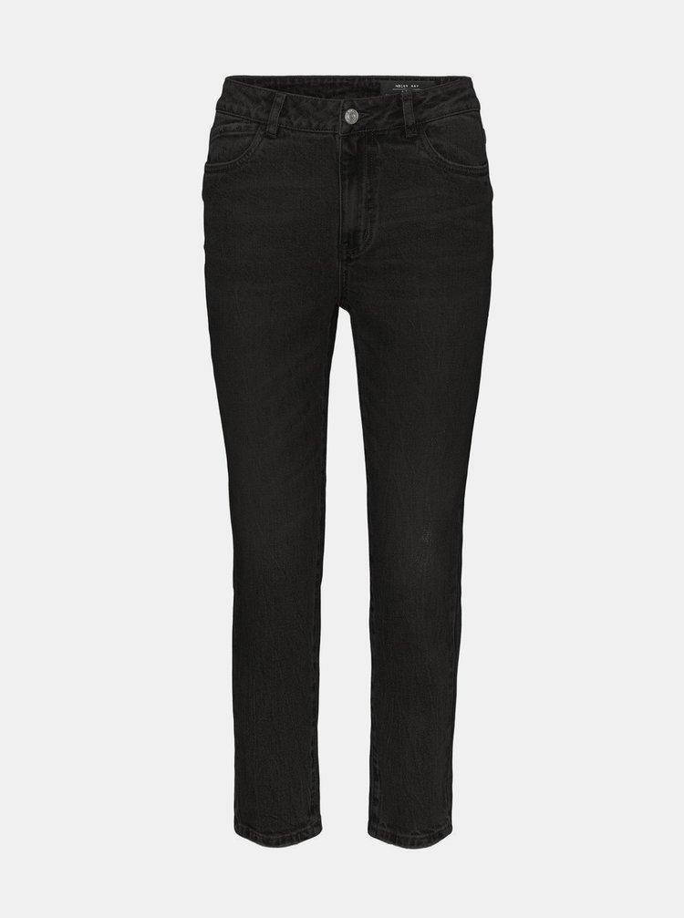 Černé straight fit džíny Noisy May