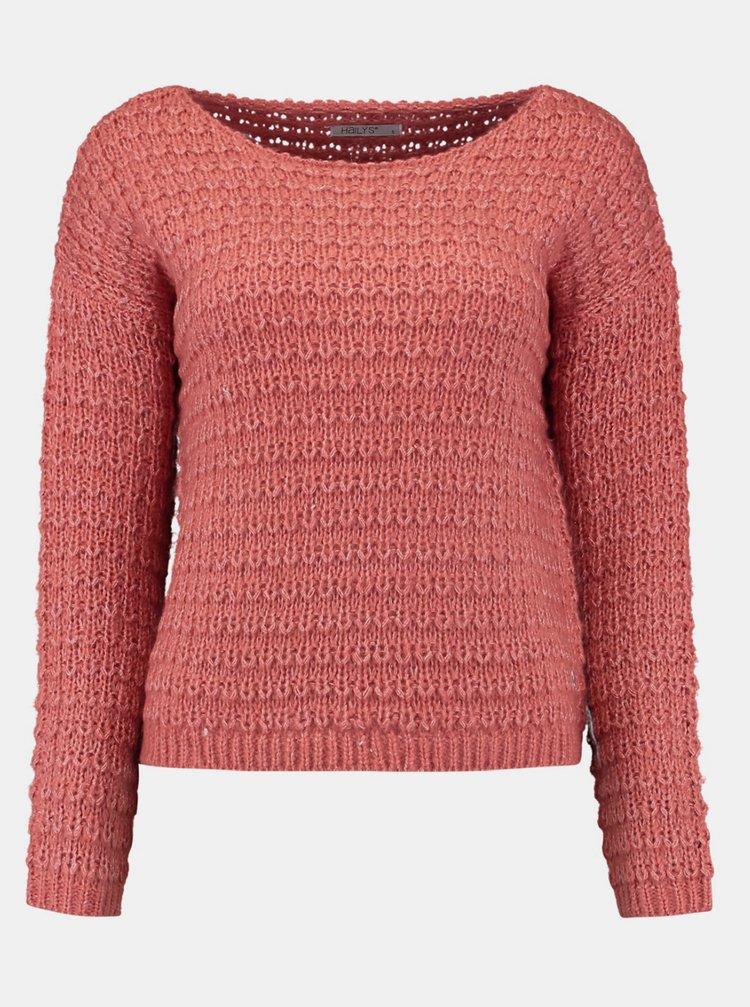 Ružový sveter Hailys