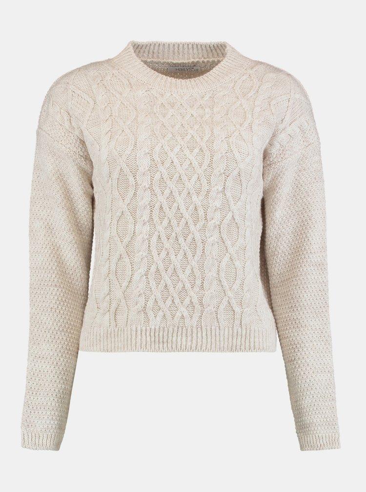 Krémový sveter Hailys