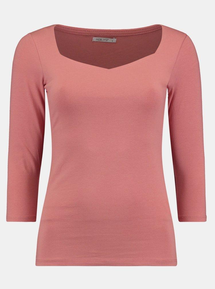 Ružové tričko Hailys
