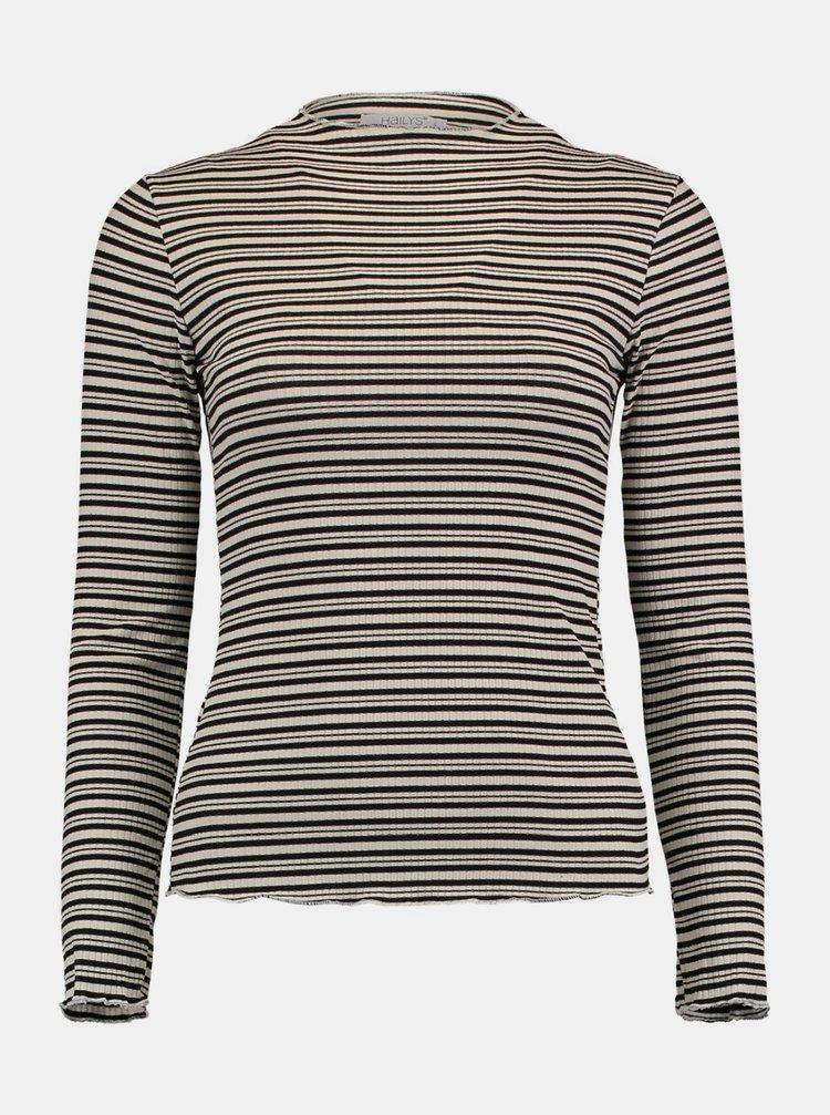 Šedé pruhované tričko Hailys