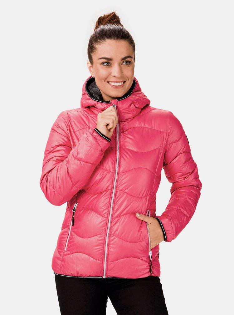 Růžová dámská zimní bunda SAM 73