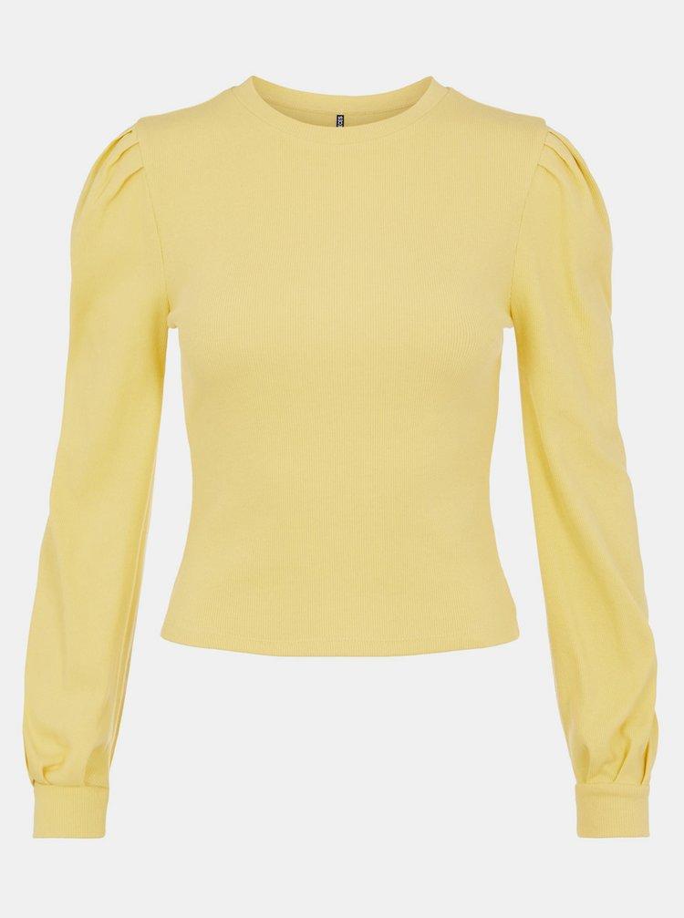 Žluté tričko Pieces
