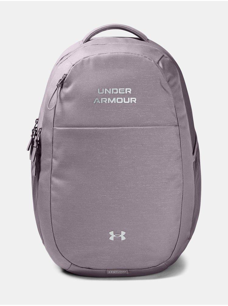 Batoh Under Armour UA Hustle Signature Backpack - světle fialová