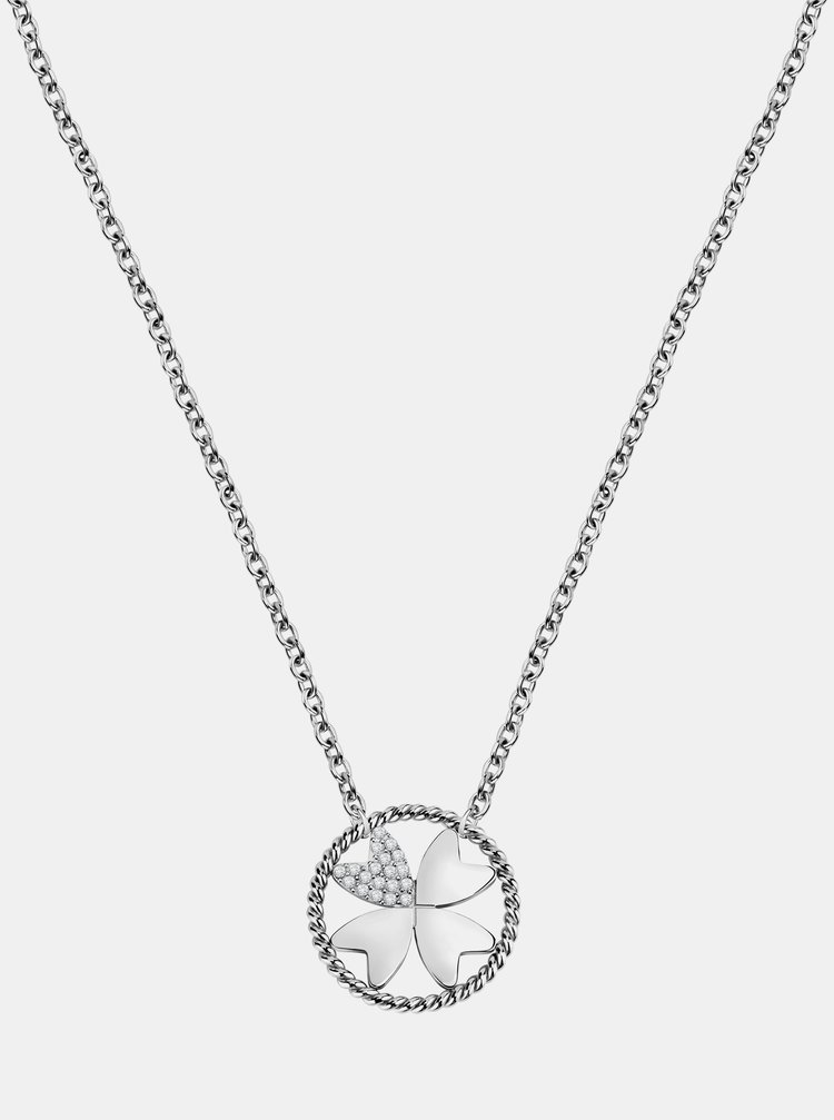 Řetízek ve stříbrné barvě s přívěskem Morellato