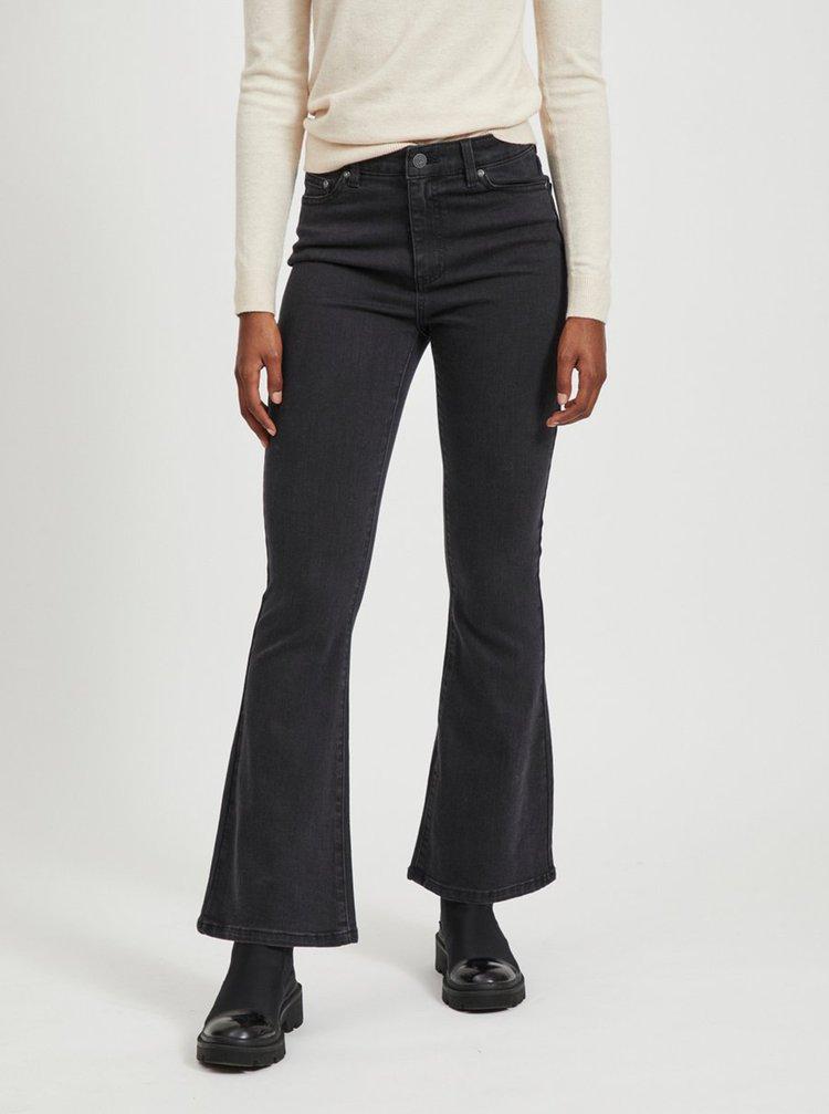 Černé flared fit džíny .OBJECT