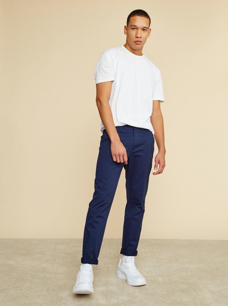 Tmavě modré pánské chino kalhoty ZOOT Baseline Emanuel