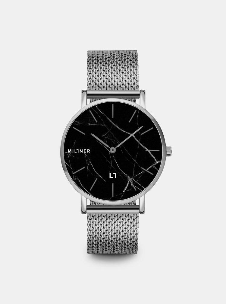 Dámské hodinky s nerezovým páskem ve stříbrné barvě Millner Camden