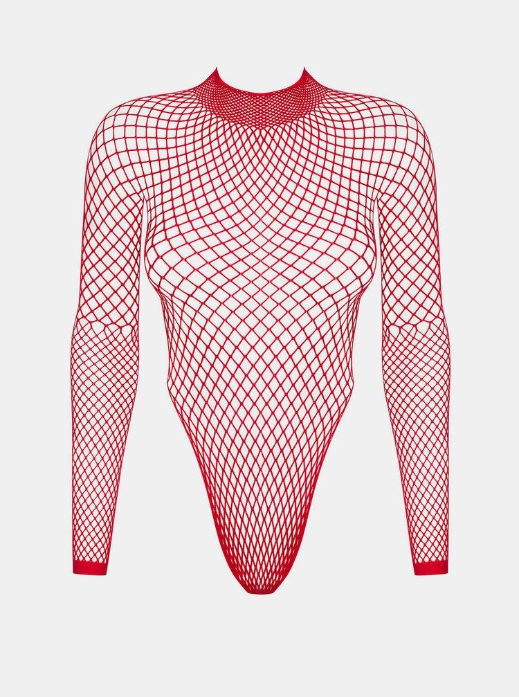 Červené síťované body Obsessive