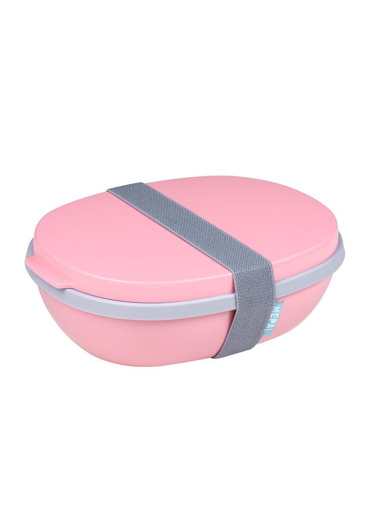 Mepal Jídelní box Ellipse Duo Nordic Pink