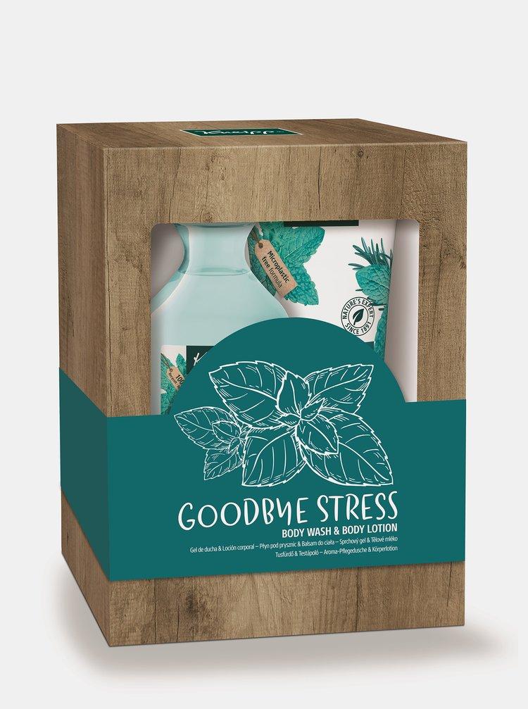 Sada sprchového gelu a tělového mléka Kneipp Goodbye Stress 250x200 ml