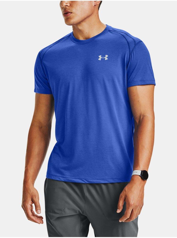 Modré tričko Under Armour STREAKER 2.0 SHORTSLEEVE