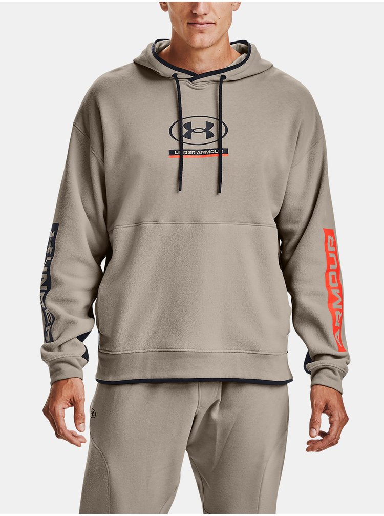 Mikina Under Armour UA 12/1 Pack Hoodie-BRN
