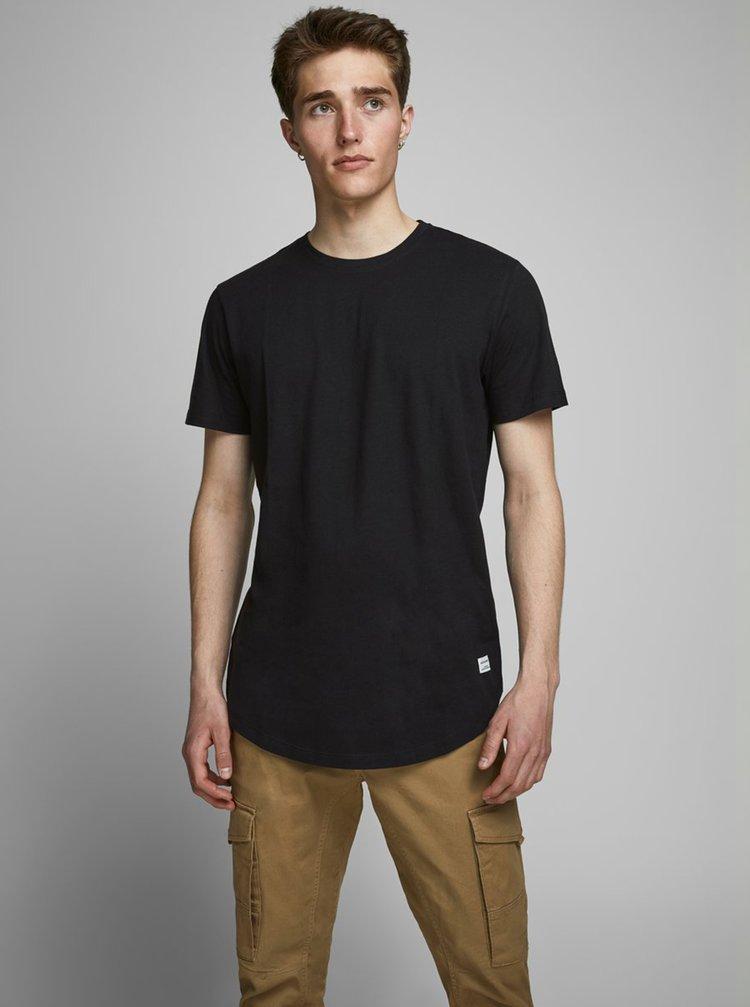 Černé basic tričko Jack & Jones
