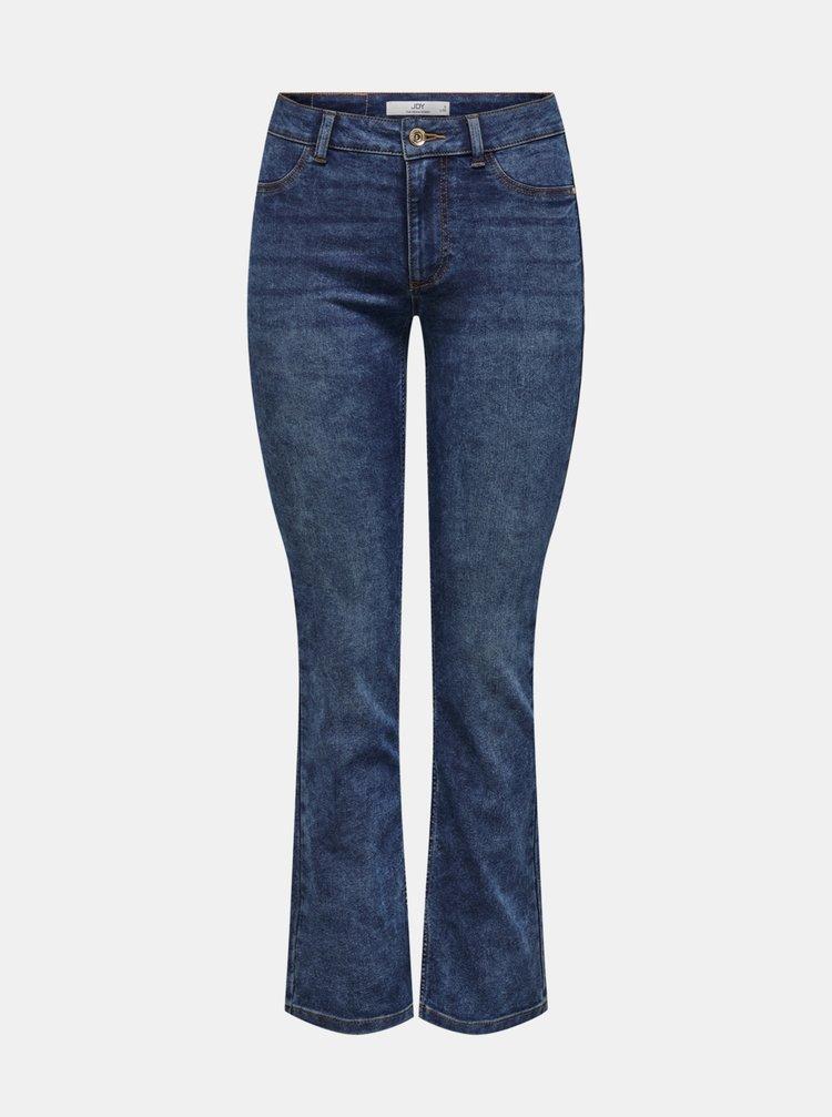 Modré straight fit džíny Jacqueline de Yong