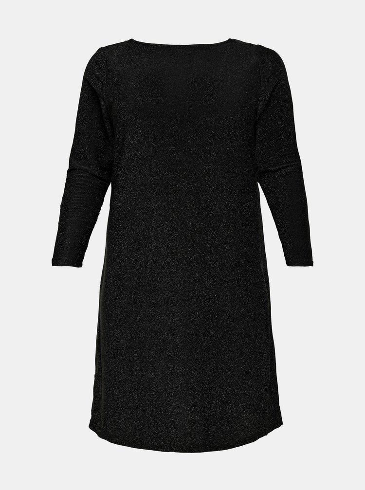 Čierne společenské šaty ONLY CARMAKOMA Dary