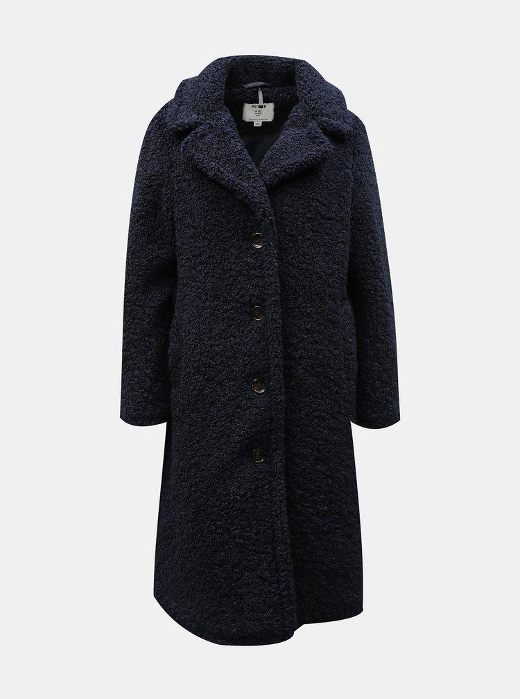 Tmavě modrý kabát Dorothy Perkins Petite