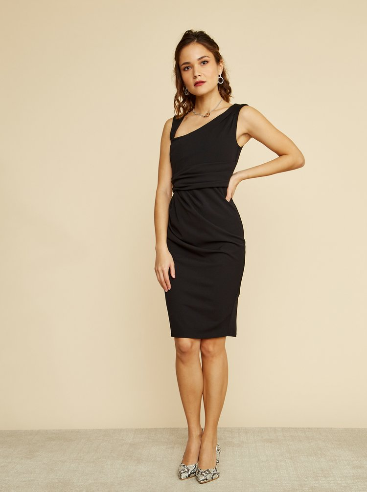 Černé pouzdrové šaty ZOOT