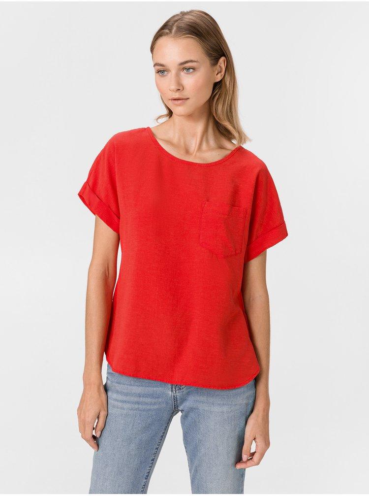 Červené dámske tričko GAP