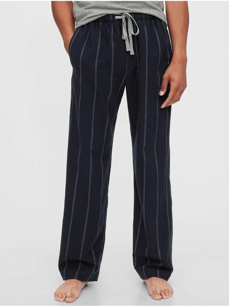 Černé pánské pyžamové kalhoty GAP