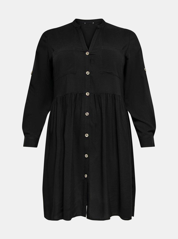 Čierne šaty ONLY CARMAKOMA New Marra
