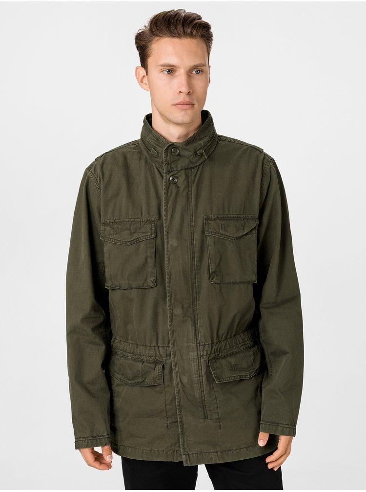 Zelený pánsky kabát GAP
