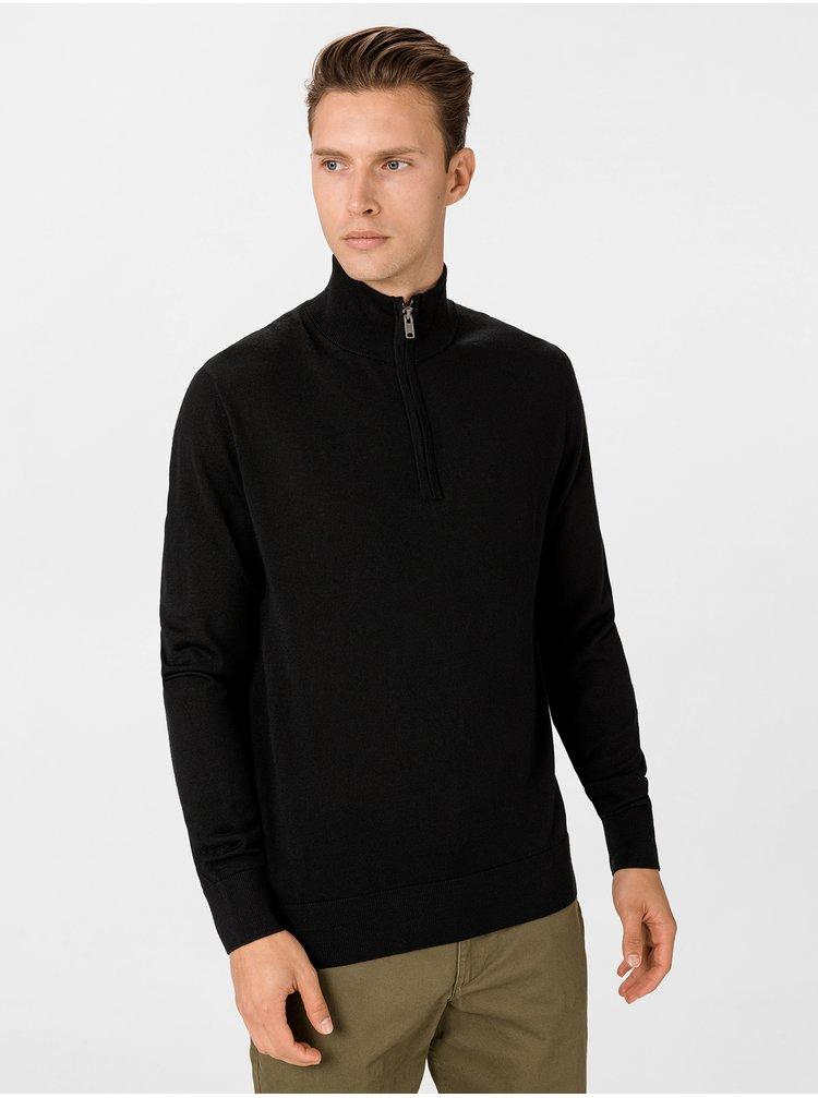 Černý pánský svetr GAP