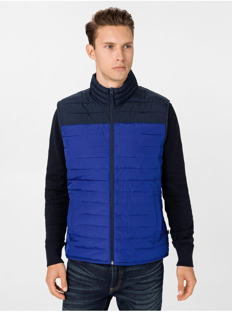 Modrá pánska vesta GAP