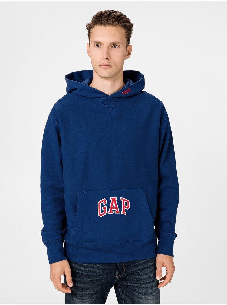 Modrá pánska mikina GAP
