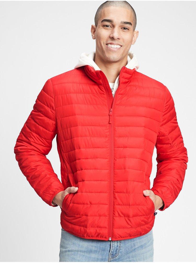 Červená pánská bunda GAP