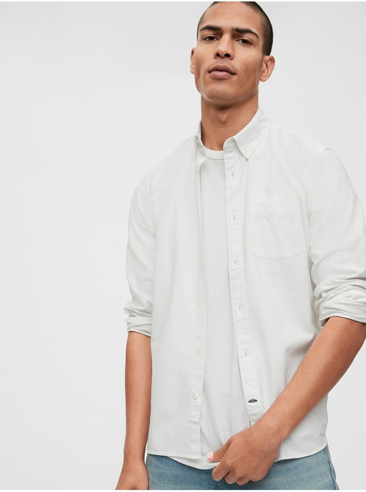 Bílá pánská košile GAP