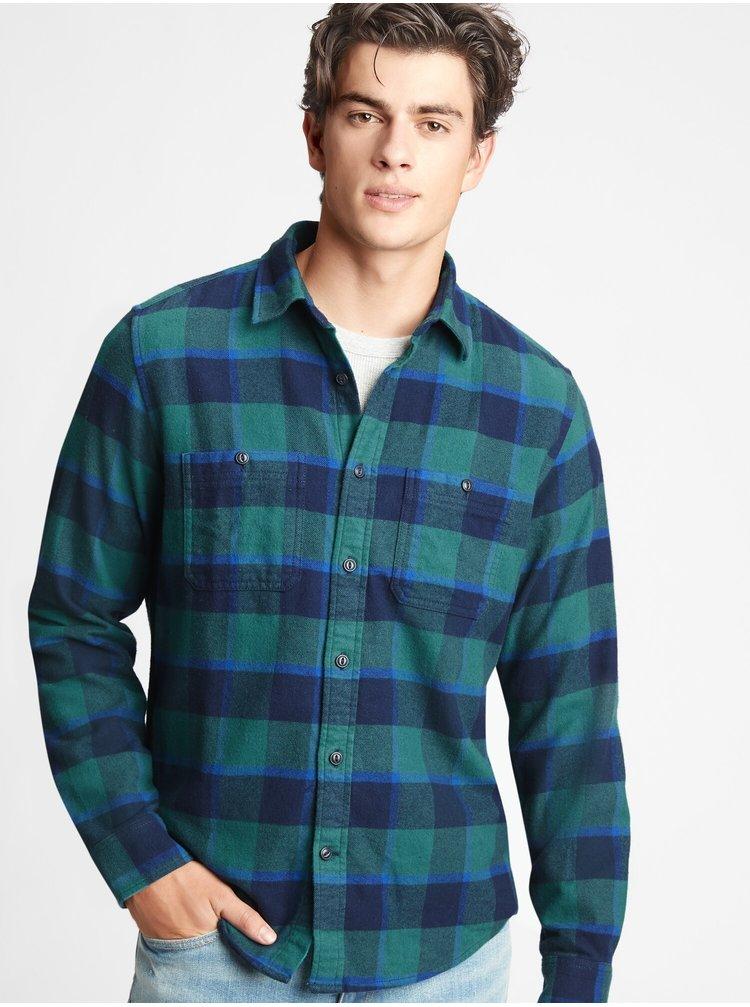 Zelená pánská košile GAP