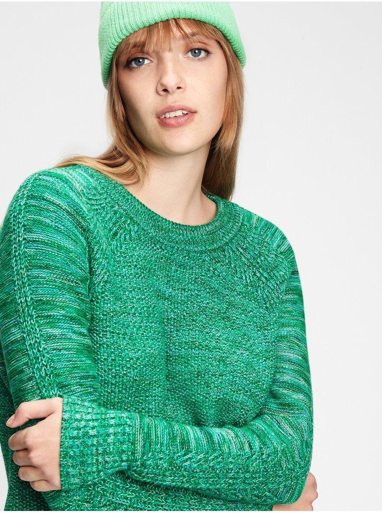 Zelený dámský svetr GAP