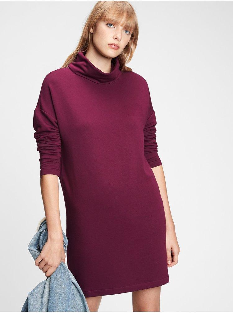 Fialové dámske šaty GAP