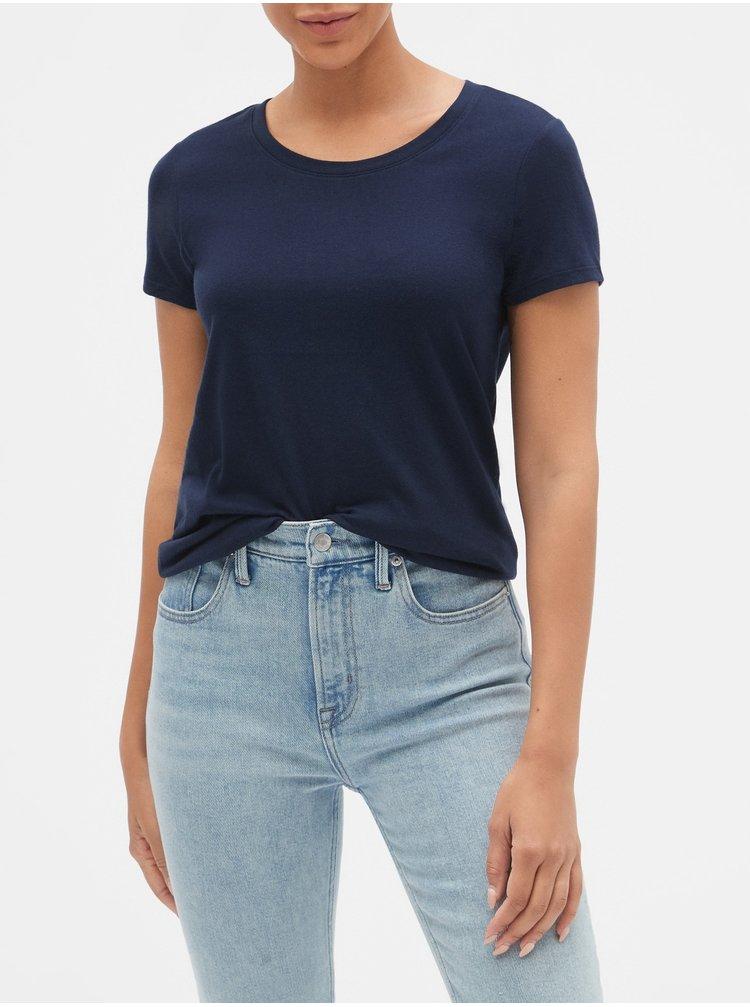 Modré dámske tričko GAP