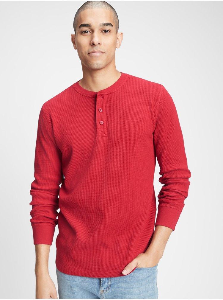 Červené pánske tričko GAP