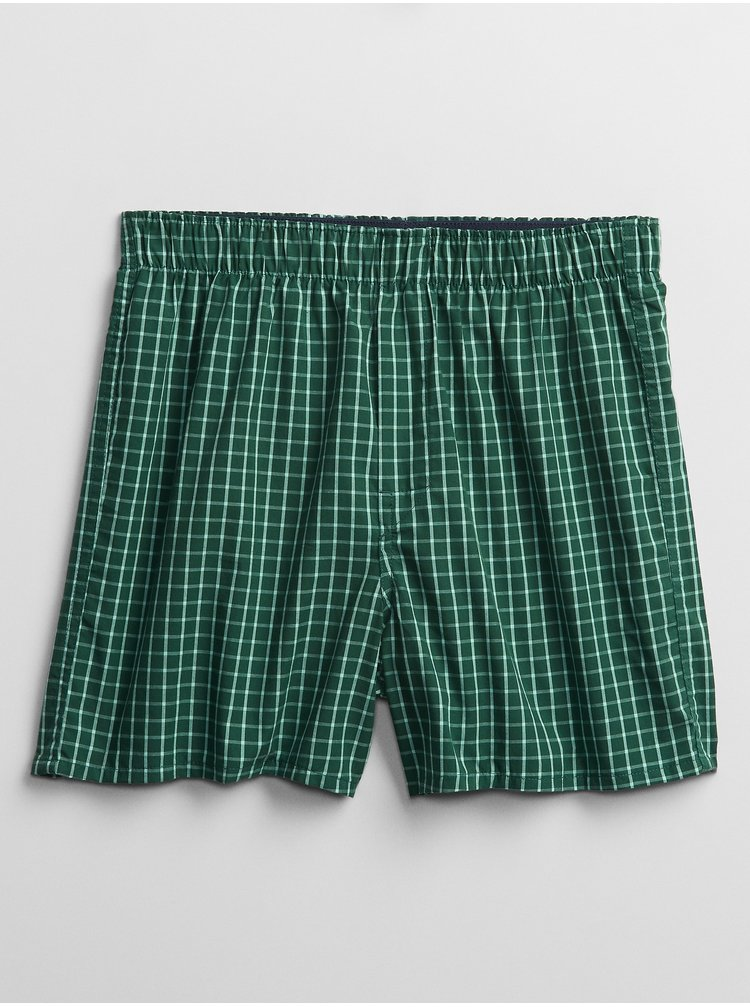 Zelené pánske boxerky GAP