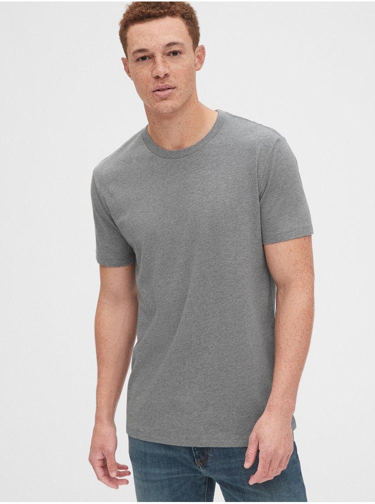 Šedé pánske tričko GAP