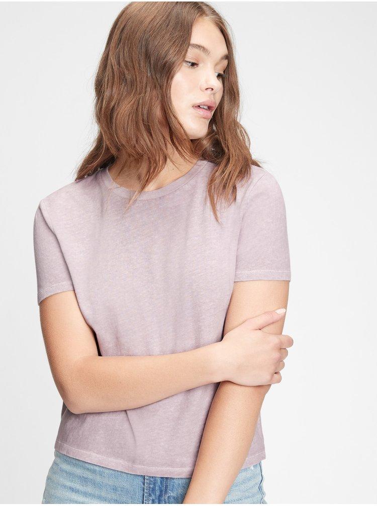 Fialové dámske tričko GAP
